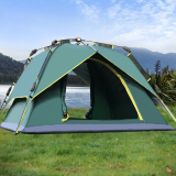 Who Sells Outdoor Tent 3 4 Person Camping Hiking Tents With Carry Bag Army Green The Cheapest