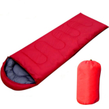 Purchase Outdoor Travel Hiking Envelope Sleeping Bag Camping Multifuntion Red Intl
