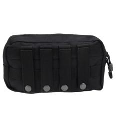 Outdoor Waterproof 1000d Tactical Molle Pouch Edc Utility Tool Bag(black) -Intl By Joyonline.