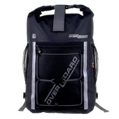 Overboard Pro-Sports Waterproof Backpack - 30 Litres Black By Gearaholic.