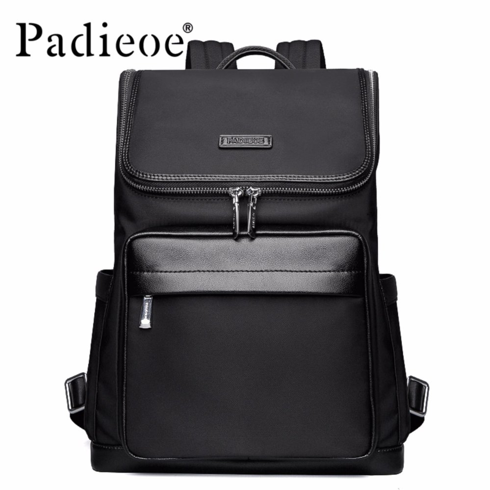 Padieoe High Quality Korean Style Nylon School Backpack Male Fashion School Bags For Teenage Casual Mens Backpacks For Male(black) - Intl By Padieoe Official Store.
