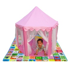 Price Palight Portable Foldable Kids Tent Princess Castle Play Tent Funny Outdoor Beach Toys Intl Palight New