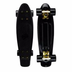 Sales Price Penny Style Board Skateboard 22 Inch Black Deck With Black Wheels Scooter Electric Scooter Kick Scooter Skate Scooter Kids Children *D*Lt