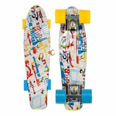 Price Penny Style Skateboard Waterprint Online Singapore