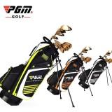 For Sale Pgm Golf Bag With Stand Portable Stand Bag 14 Sockets Multi Pockets Golf Standard Bag With Shouder Strap 90 28Cm Orange Intl