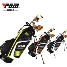 Buy Pgm Golf Bag With Stand Portable Stand Bag 14 Sockets Multi Pockets Golf Standard Bag With Shouder Strap 90 28Cm Orange Intl On China