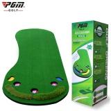 Pgm Golf Putting Mat Golf Trainer Carpet Big Feet Golf Trainer Mat Artificial Grass Carpet Professional Practice Golf Putting Green 2Simulated Grass Intl Sale