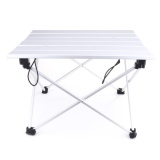 List Price Portable Aluminum Rolling Table Folding Camping Outdoor Travelling Indoor Small Intl Vakind