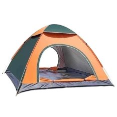 Cheapest Portable Double Doors Tent Quickly Automatically Pop Open Waterproof Windproof Anti Uva Ultraviolet Well Ventilation Tent With Carrying Bag For 4 Person Home Outdoor Public Gardens Travel Camping Hiking Beach Mountain Balcony Style C Intl