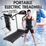 Sale Portable Folding Electric Motorized Treadmill Running Fitness Machine Online Singapore