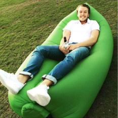 Portable Self Inflatable Couch Thin Material Green Discount Code