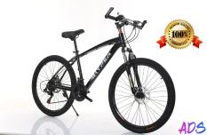 Premium Quality Light Weight Japan Mountain Bike Hi Carbon Steel Shiny Black21 Speed By Aextech.