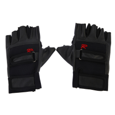 Pro Weight Lifting Gym Exercise Sport Fitness Sports Leather Gloves By Welcomehome.