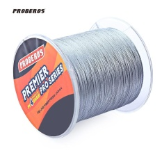 Discount Proberos 6Lbs 500M Durable Colorful Pe 4 Strands Monofilament Braided Fishing Line Angling Accessory Intl