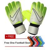 Top 10 Professional Football Goal Keeper Gloves Soccer Goal Keeper Gloves Finger Protection Size 9 Intl