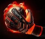 Purchase Professional Goalkeeper Gloves Finger Protection Thickened Latex Soccer Football Goalie Gloves Goal Keeper Gloves Orange Intl Online