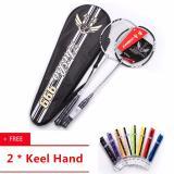 Wholesale Professional High Carbon Fiber Couple Badminton Racquet 2 Pcs With Bag