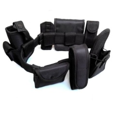 Discount Professional Outdoor 8 In 1 Multi Functional Armed Belt Security Tactical Equipment Eight Piece Belt Intl Denshine On China