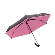 38f9f7b330df Quality Mini Pocket Umbrella, Women Sunny and Rainy Mini Fashion Folding  Umbrellas Pink - intl Singapore