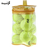Latest Regail 12Pcs Tennis High Elasticity Training Ball Intl