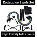 Best Price Resistance Bands Set Full Accessories Best Strength Training Gym Tool