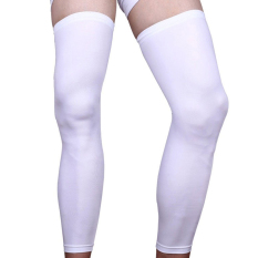 Riding Kneepads Basketball Football Leg Guard Tights Lengthen White S By Welcomehome.