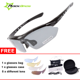 Cheaper Rockbros Cycling Sunglasses Outdoor Sports Glasses Polarized 100 Uva Uvb