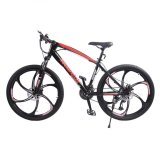 Latest Rockefeller 26 Mountain Bike Bicycle 21 Speed Double Disc Brake Gts Front Fork Black Orange Black Red