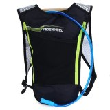 Roswheel 5L Bike Hydration Backpack With 2L Water Bag For Camping Cycling Hiking Shopping