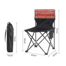 Great Deal Ruyiyu 42 X 42 X 72 Cm Oxford Oversized Quad Chair Heavy Duty Folding Camp Chair Instant Folding Chair Portable Canvas Folding Kickoff Chair