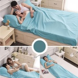 Buy Saideng 115 210Cm Natural Cotton Sleeping Bag Liner Travel Sheet Sleep Sack With Built In Pillowcase For Outdoor Camping Hiking Hotel Intl On China