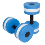 Buy Saideng Unisex Aquatic Dumbells Set Eva Fitness Barbells For Water Aerobics And Pool Exercises Color Blue Intl Oem Cheap