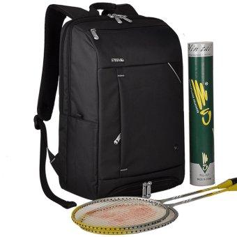 SimpleHome Sinpaid AD-06 Racket bag backpack outdoor sports traveling for business computer bag shoulder bag black(Export)(Intl)