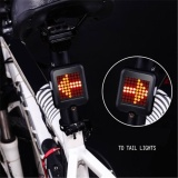 Price Comparisons Of Smart Bicycle Bike Rear Tail Light Turn Signal Brake Safety Alert 64 Led Intl