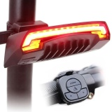 Cheaper Smart Bicycle Light Bike Rear Remote Wireless Light Turn Signal Led Tail Light Intl