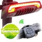 Sales Price Smart Bicycle Light Bike Rear Remote Wireless Light Turn Signal Led Tail Light Laser Beam Usb Chargeable Cycling Intl