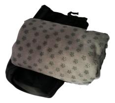 Wholesale Smartbiz Yoga Towel Mat Charcoal Grey