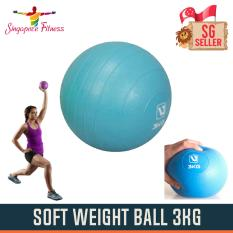 Soft Weight Ball 3kg By Singapore Fitness.