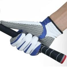 Sole Golf Glove Men Microfiber Cloth Gloves Anti-Skid Left Right Hand Glove - Intl By Watson.