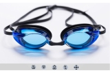 Speedo Swimming Goggles With Anti Fog And Uv Protection Lagoon Blue Clear Cheap