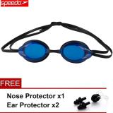 For Sale Speedo Waterproof Anti Fog Eye Swimming Goggles Swim Glasses Pc Lens Silicone Strap Intl