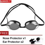 Speedo Waterproof Anti Fog Eye Swimming Goggles Swim Glasses Pc Lens Silicone Strap Intl On China