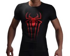 Spiderman Logo Men Compression Shirt Top Black Export Promo Code