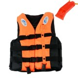 Buy Sports *D*Lt Life Jacket Swimming Boating Sailing Vest Survival Suit With Whistle M Intl Online
