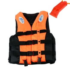 Sale Sports *d*lt Life Jacket Swimming Boating Sailing Vest Survival Suit With Whistle M Intl Veecomezy Branded