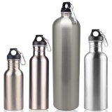 Sale Sports Water Bottles Stainless Steel Single Layer Water Bottle Keeps Cold For Cycling Biking Outdoor Activities Color Silver Volume 1 8L Intl Oem Online