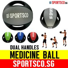 Sportsco 10kg Medicine Ball With Dual Grip (sg) By Sportsco Singapore.