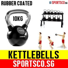 Price Comparisons Of Sportsco 10Kg Rubber Coated Kettlebell Sg