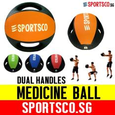 Sportsco 8kg Medicine Ball With Dual Grip (sg) By Sportsco Singapore.