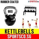Discount Sportsco 8Kg Rubber Coated Kettlebell Sg Sportsco Singapore
